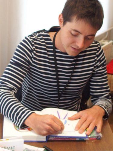 Jérémie Fischer - Biennale des illustrateurs