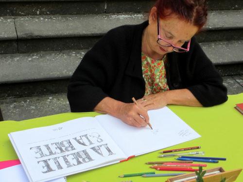 Nicole Claveloux - Biennale des illustrateurs
