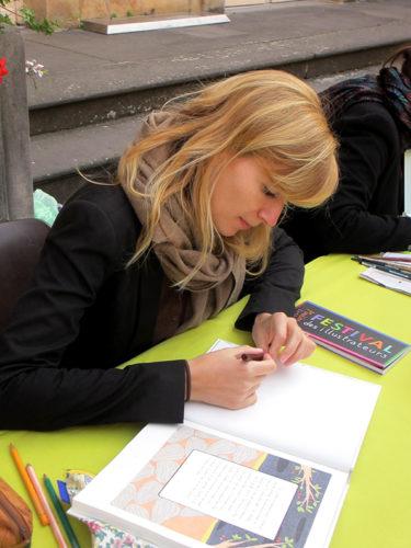 Marion Fayolle - Biennale des illustrateurs